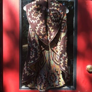 Vest, Native American motif